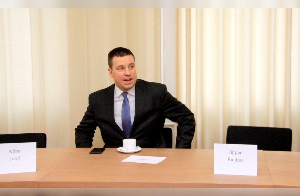 Jüri Ratas: LNG terminal oleks mõistlik rajada Paldiskisse