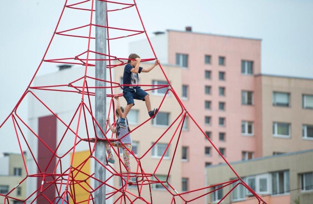 Projektid võivad keskenduda ka näiteks laste liikumisaktiivsuse edendamisele.