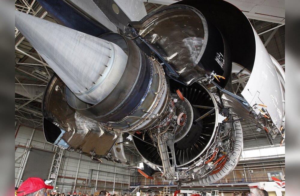 Qantas leidis hiigellennuki mootoritest anomaaliad