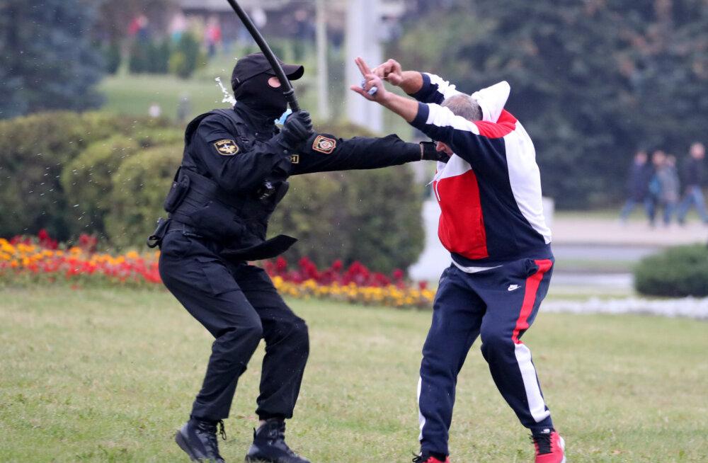 """""""Arvasin, et olen nüüd pime..."""" Laskesuusatähe vend arreteeriti Valgevenes vägivaldselt"""