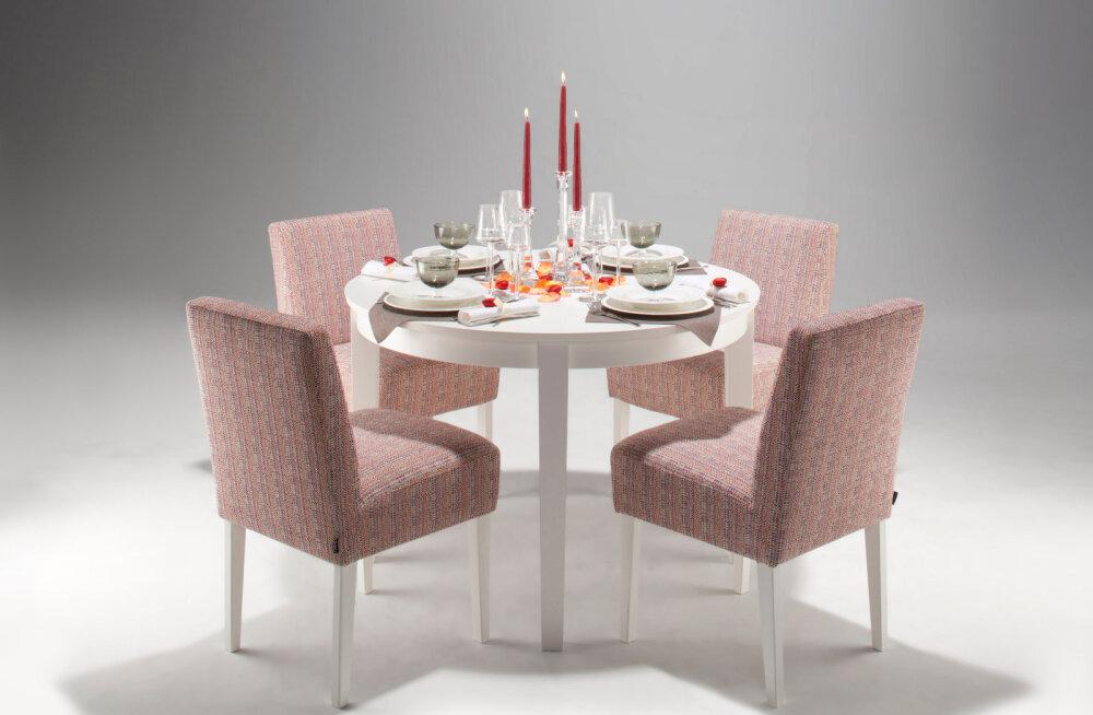 Круглый обеденный стол украшает каждый дом!