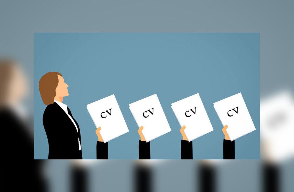 Miks mulle aktiivne CV tööportaali andmebaasis?