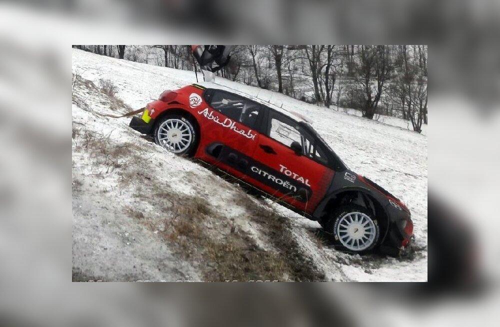 FOTO | Tänaku konkurent kihutas testisõidul teelt välja