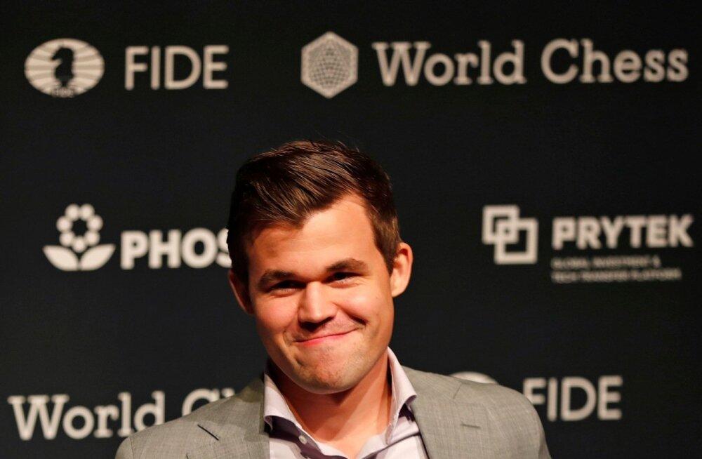 Magnus Carlsenile pole malemaailmas vastast.