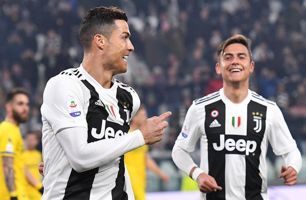 Cristiano Ronaldo ja Paulo Dybala
