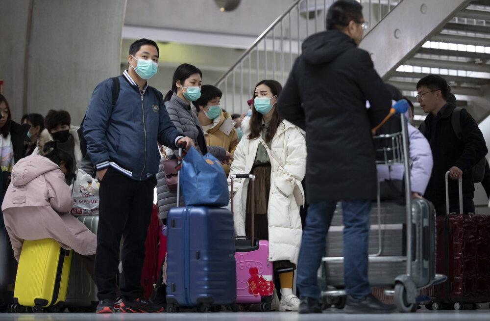 Hirm viiruse ees: USA ei luba enam hiljuti Hiinat külastanud turiste riiki sisse