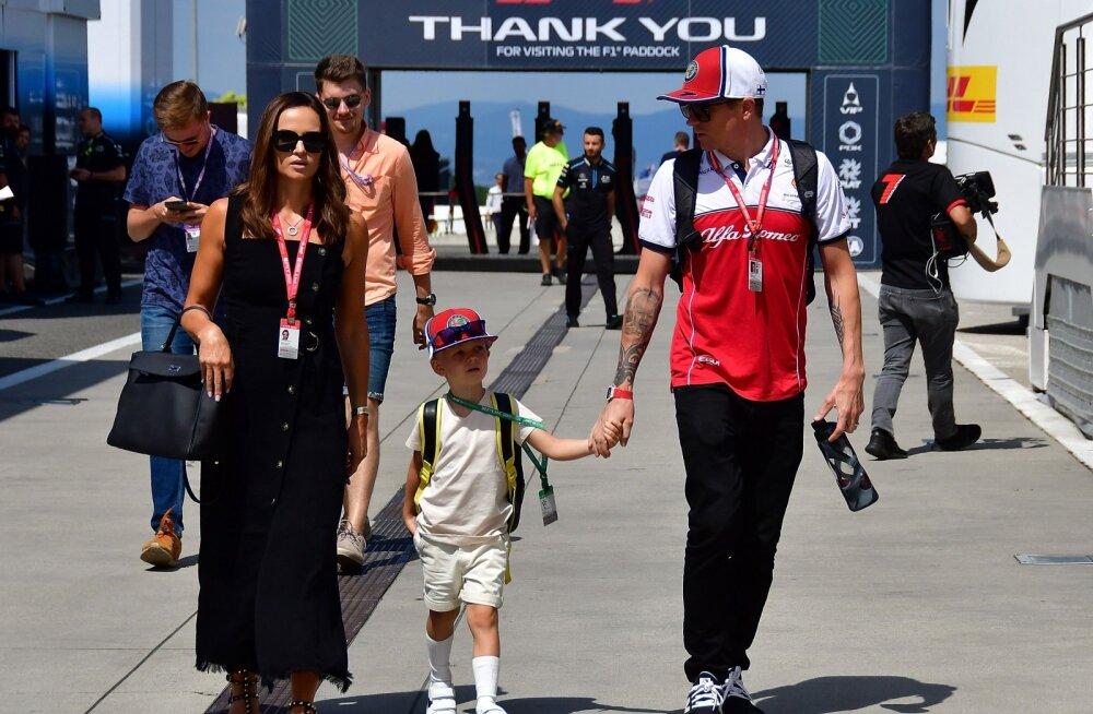 VIDEO   Käbi ei kuku kännust kaugele! Kimi Räikköneni nelja-aastane poeg sõitis esimest korda kardiga
