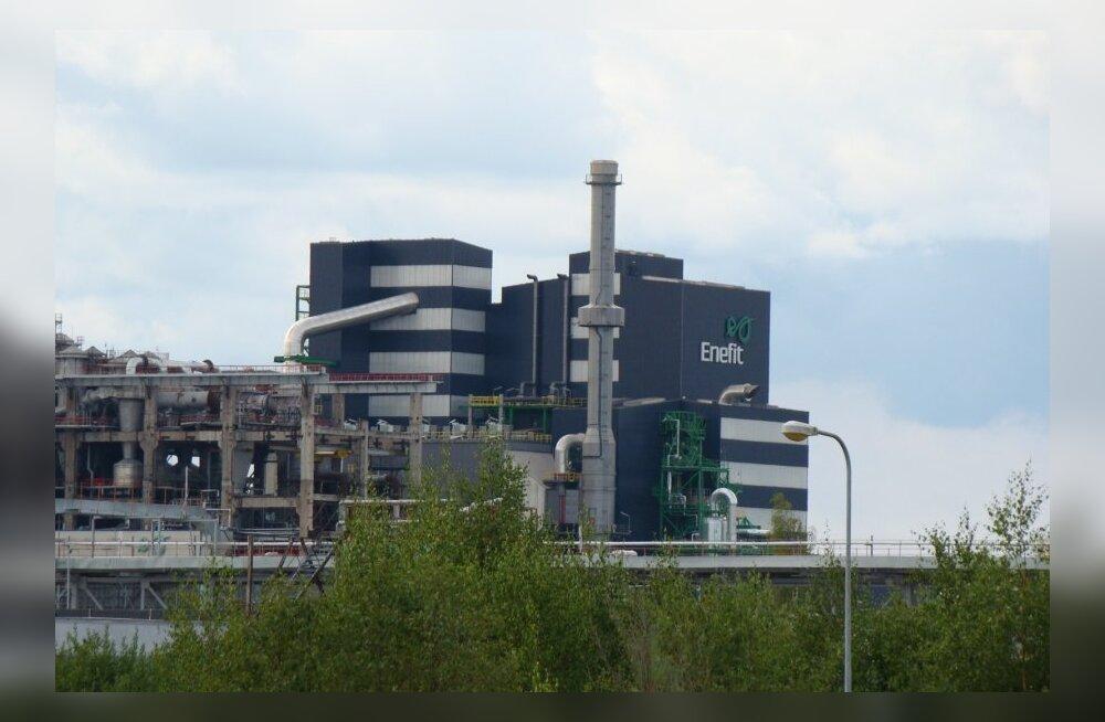 Auvere, Eesti Energia Enefit 280 õlitehas
