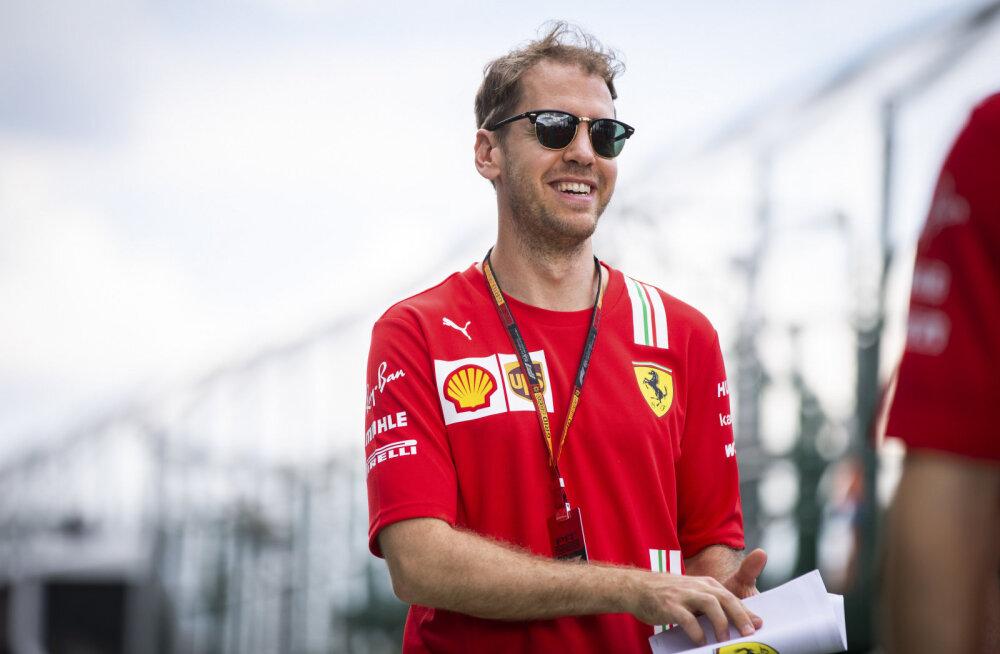 Ferrari soovib Sebastian Vettelit endale jätta, aga nõuab sakslaselt ohverdust