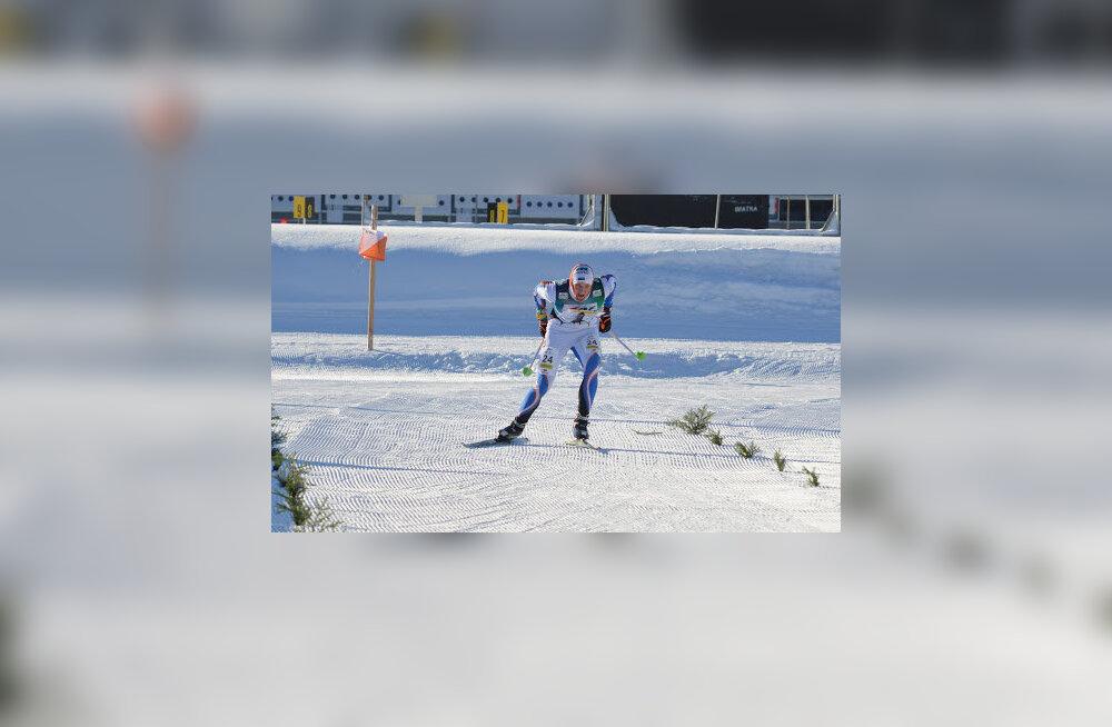 Mattis Jaama finišisirgel