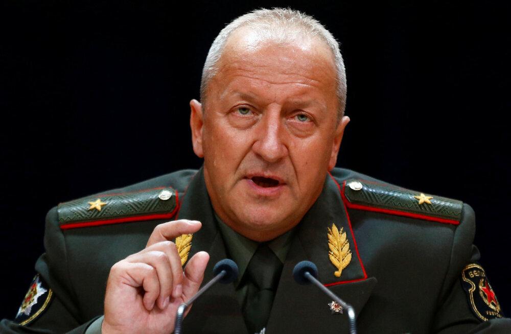 Kindralstaabi ülem: Valgevene on valmis ühisõppusteks NATO-ga