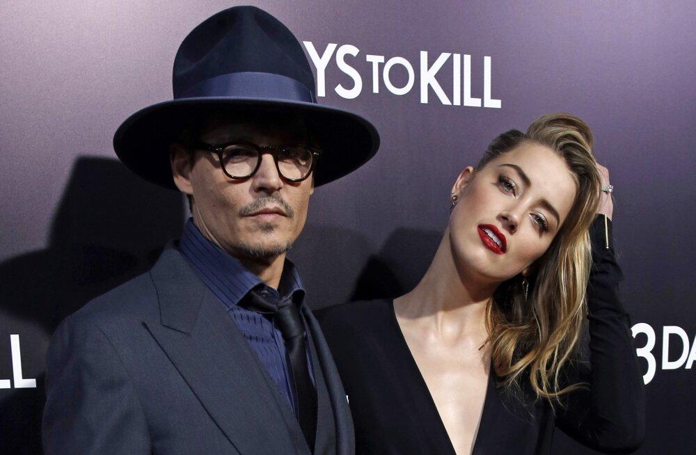 Johnny Depp hakkab kohe abielluma