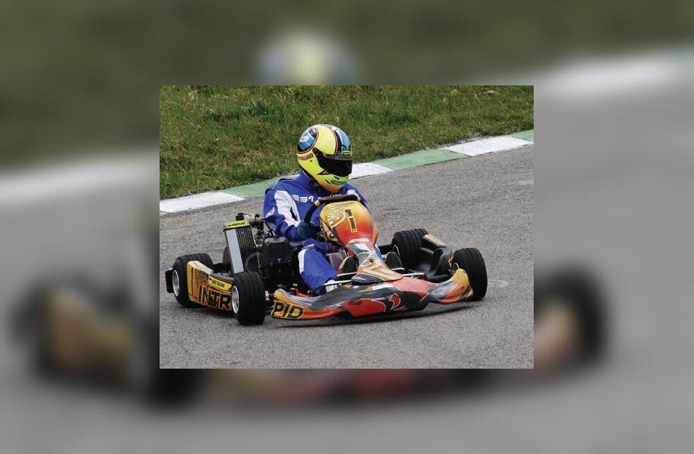 Talvar Racingu sõitjad võitsid Põltsamaal kaks esikohta
