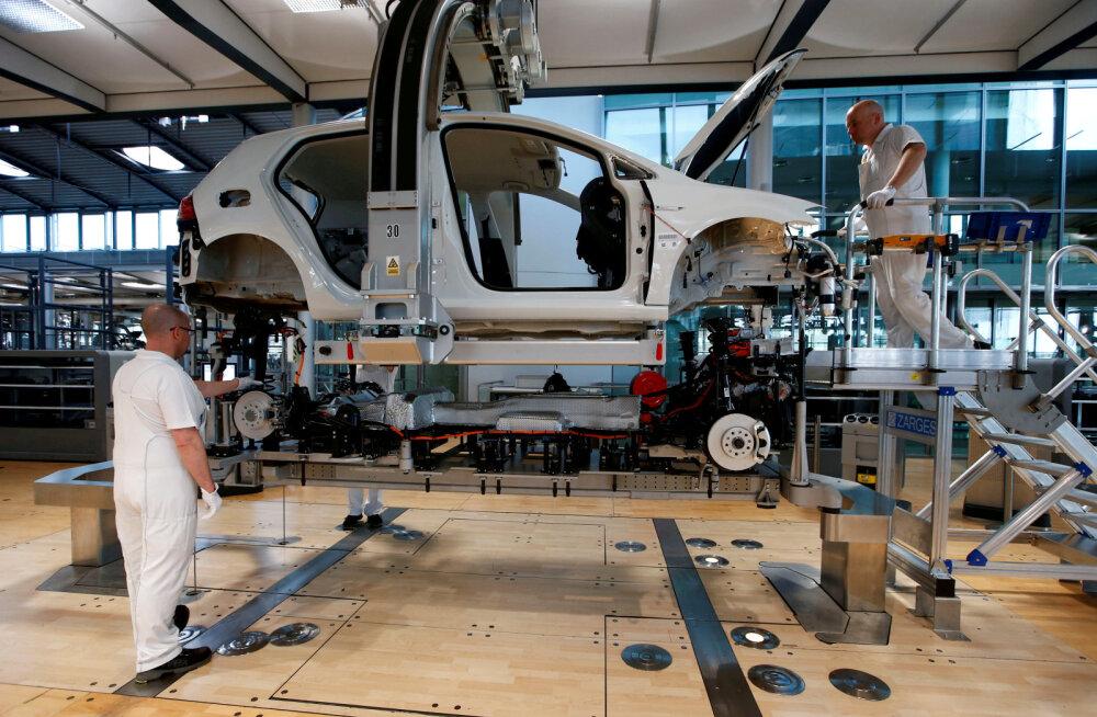 Saksa firmad valmistuvad majanduslanguseks