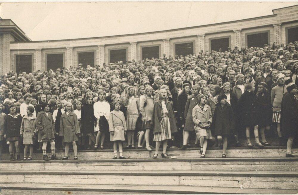 Laulupidu Tallinnas, 1928 - 1939