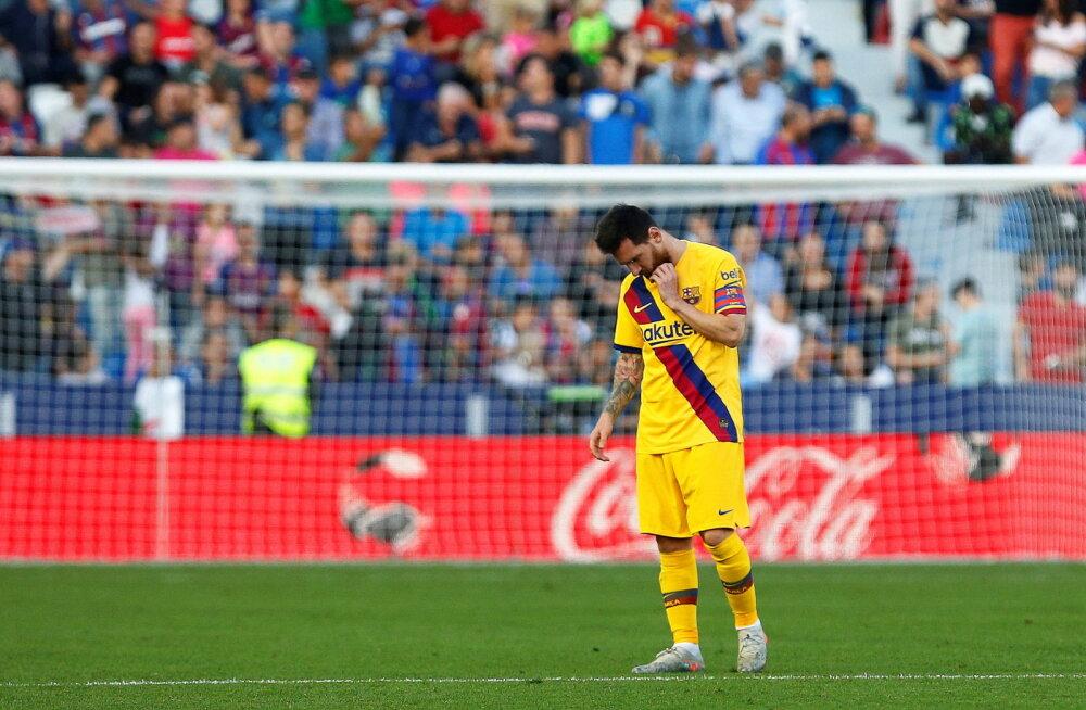 Barcelona sai šokk-kaotuse, Madridi hiiud jätsid hea võimaluse kasutamata