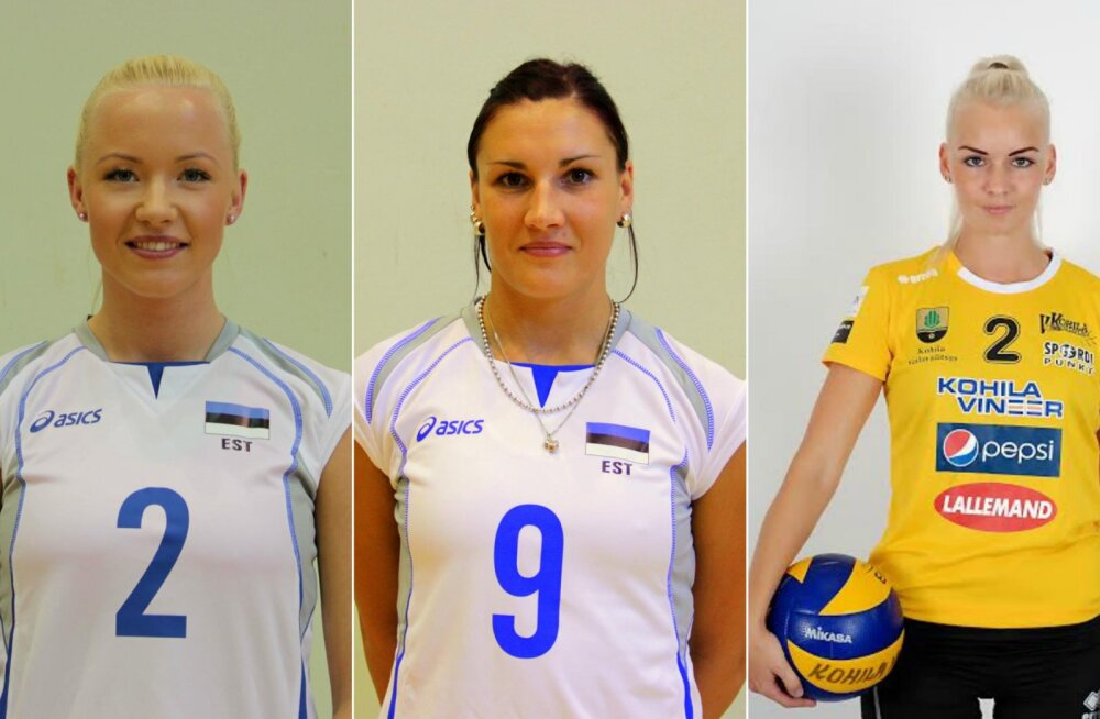 Facebookis valitakse Eesti kauneimat võrkpallurit. Kes osutuvad võitjateks?