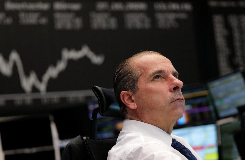Investoreid tabas hirm. Aktsiate, nafta ja kulla hind langes