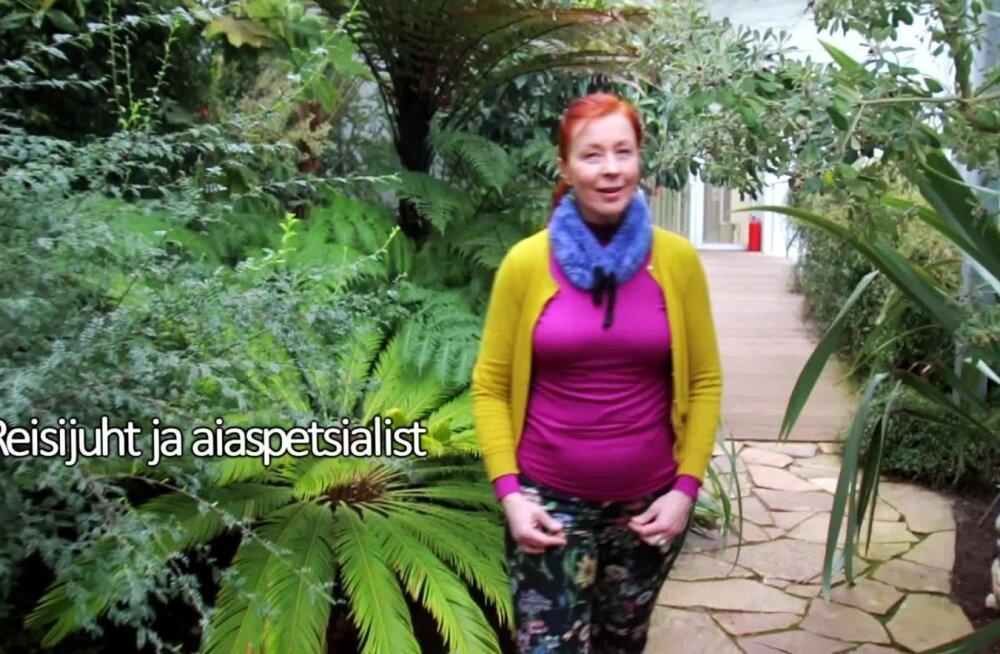 Aiandusguru Eva Luigas reisib eksootilisse sihtkohta: sealt on pärit ka üks minu lemmiktaim