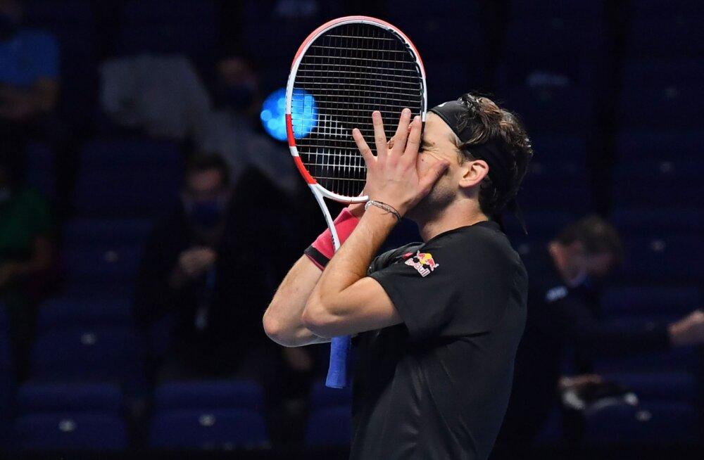 VIDEO | Thiem võitis ülipõneva poolfinaali Djokovici vastu otsustava seti kiires lõppmängus