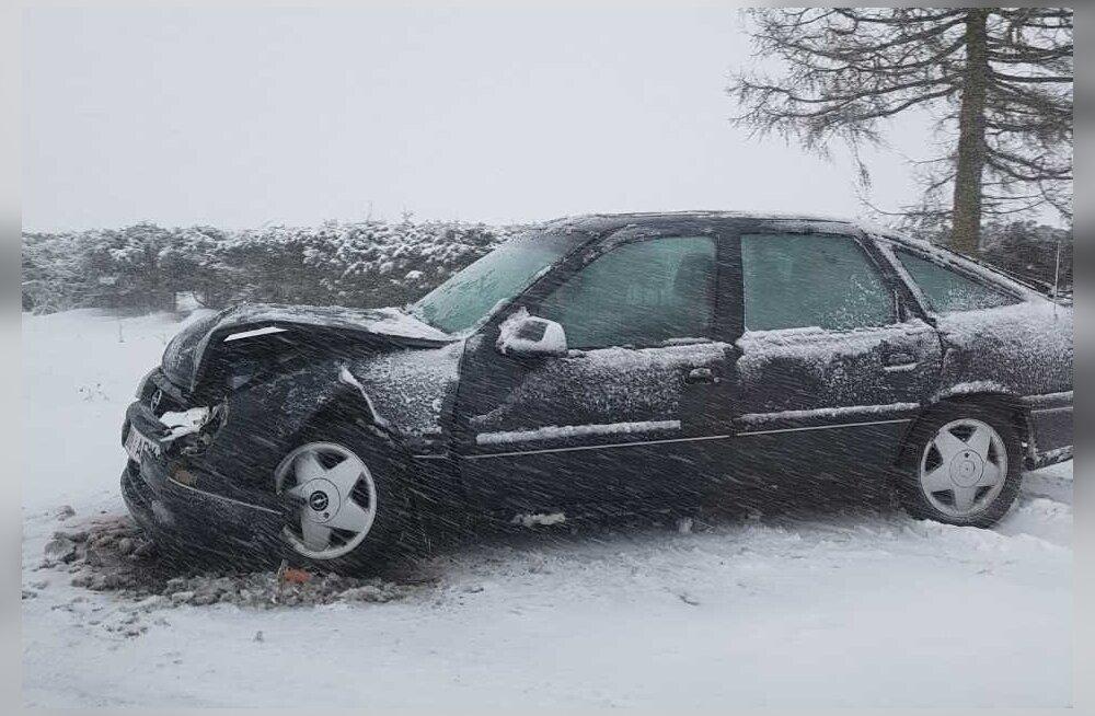 Liiklusõnnetus Põdrusel