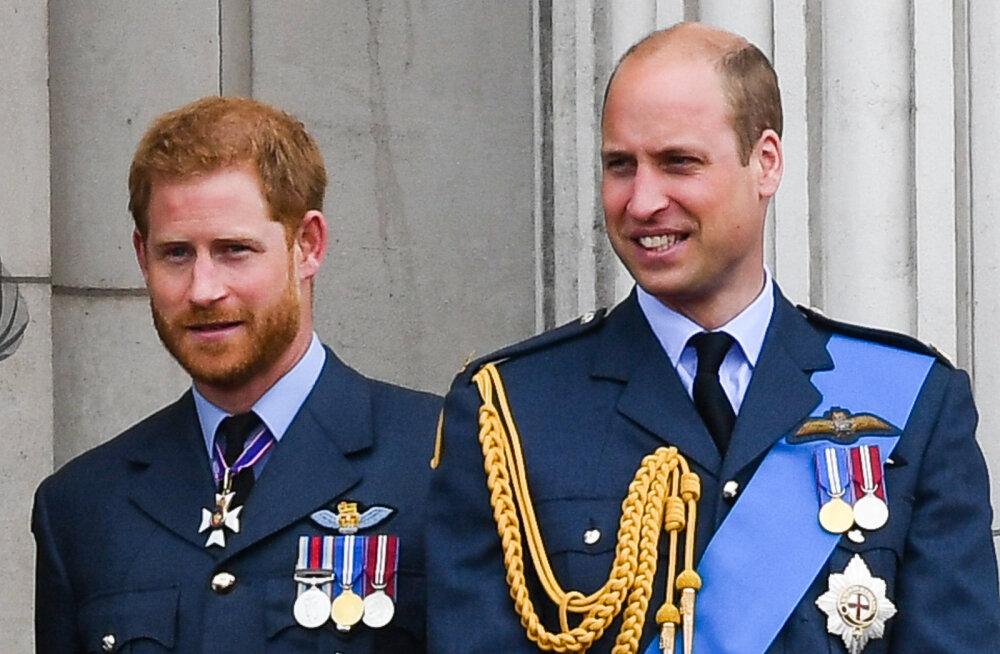 Prints Harry eiras taas Williami ja Charlesi nõuandeid: sellist asja ei tohi teha, kui esindad kuningannat!