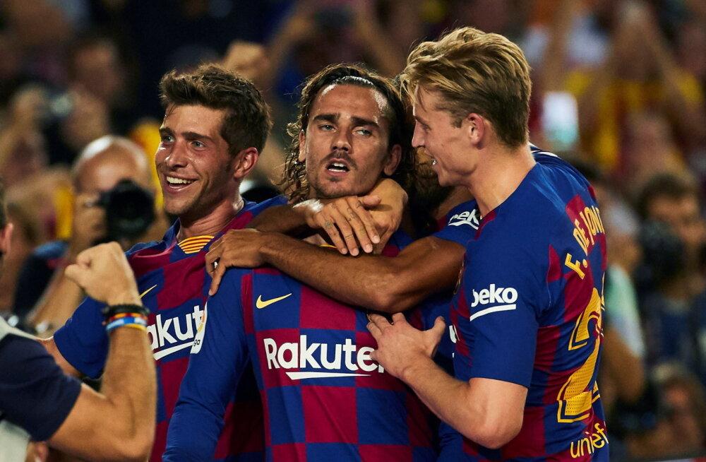 Messita mänginud Barcelona sai Hispaania liigas hooaja esimese võidu
