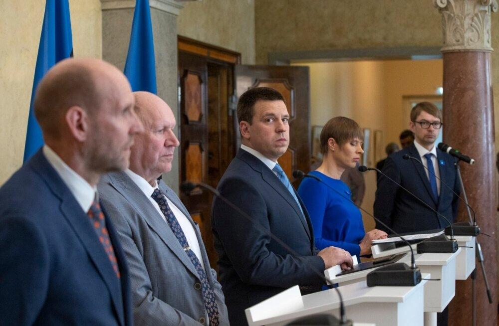 President kinnitas ametisse uue valitsuse 24.04.2019