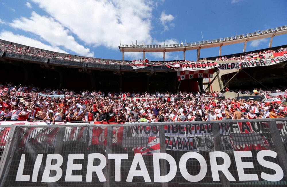 Copa Libertadoresi finaal on taas ohus: kumbki tiim ei soovi Madridis mängida, River lausa keeldub