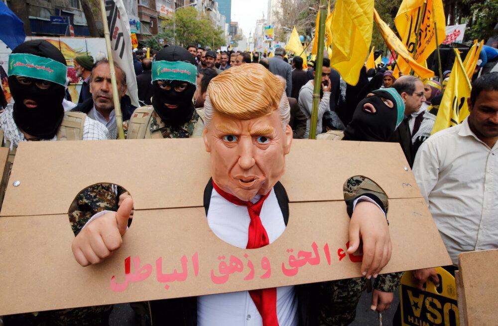 Iraan ja Ameerika: enam kui 30 aastat sõja piiril