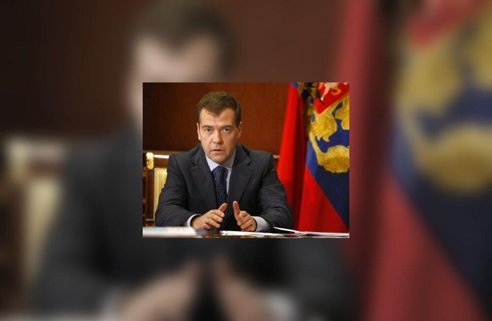 Medvedev süüdistab USAd ebaausas konkurentsis