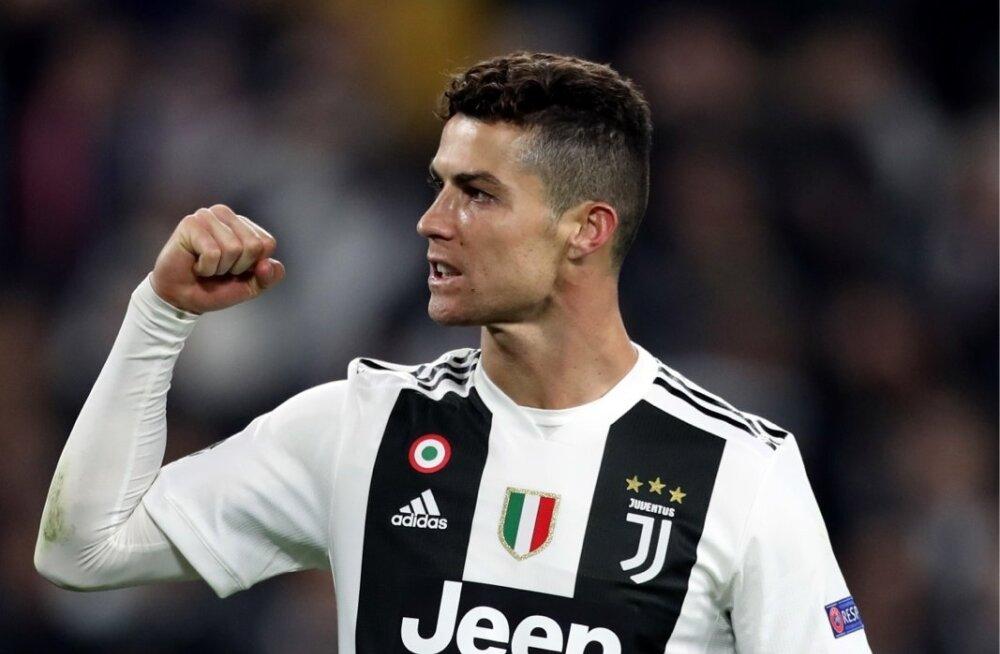 Cristiano Ronaldo on ikka MEistrite liigas hoos olnud.