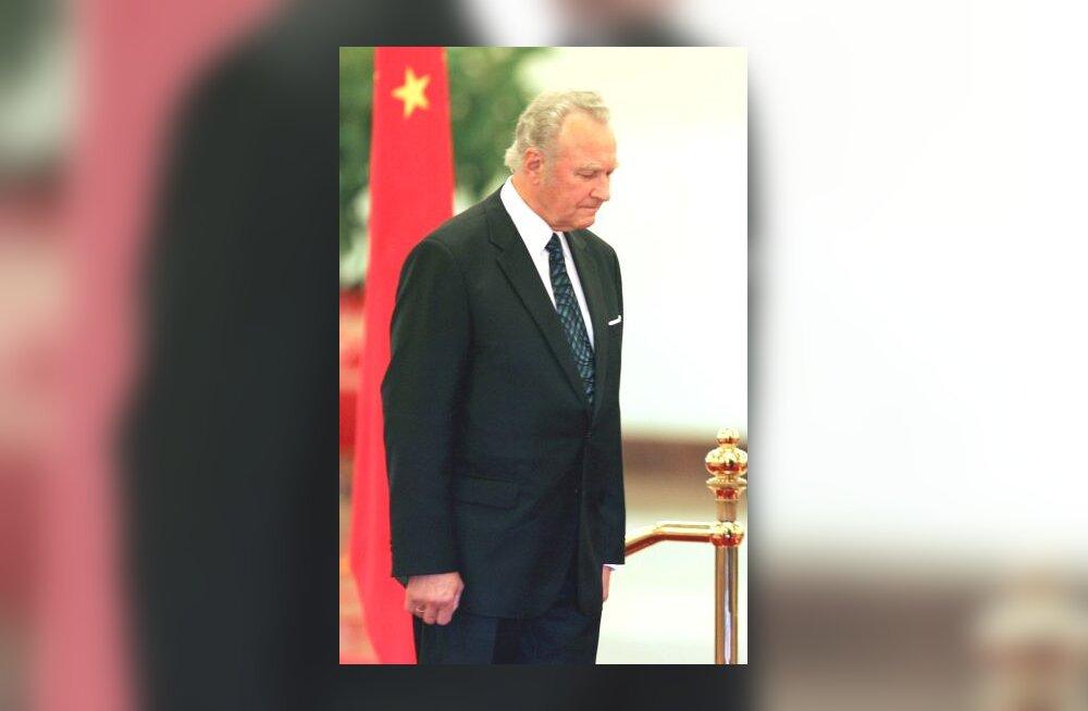 Arnold Rüütel Hiinas