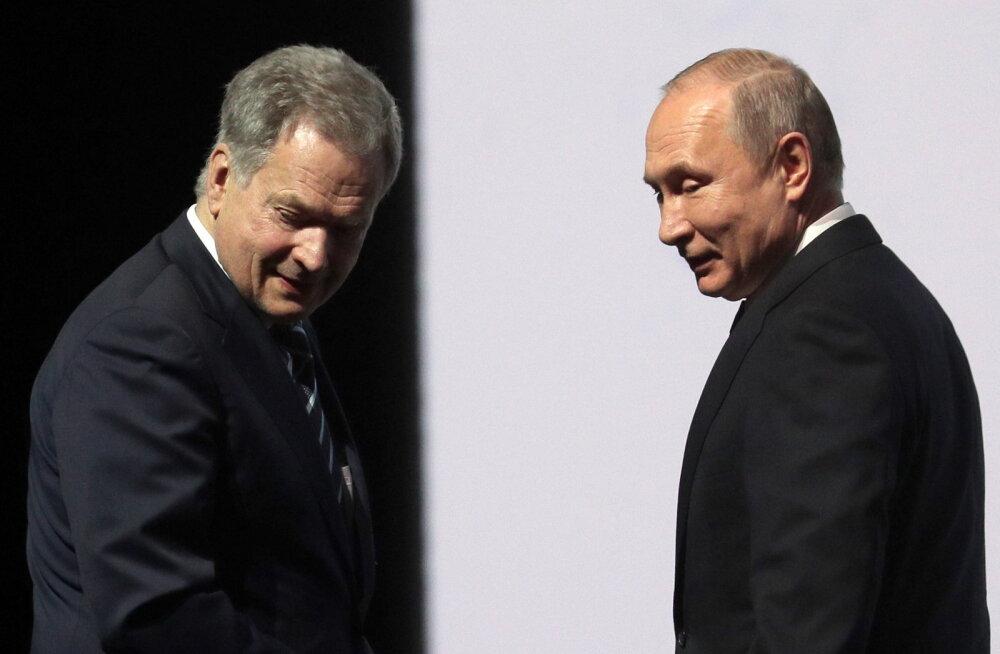 Leht: Putin külastab kahe nädala pärast Soomet ja kohtub president Niinistöga