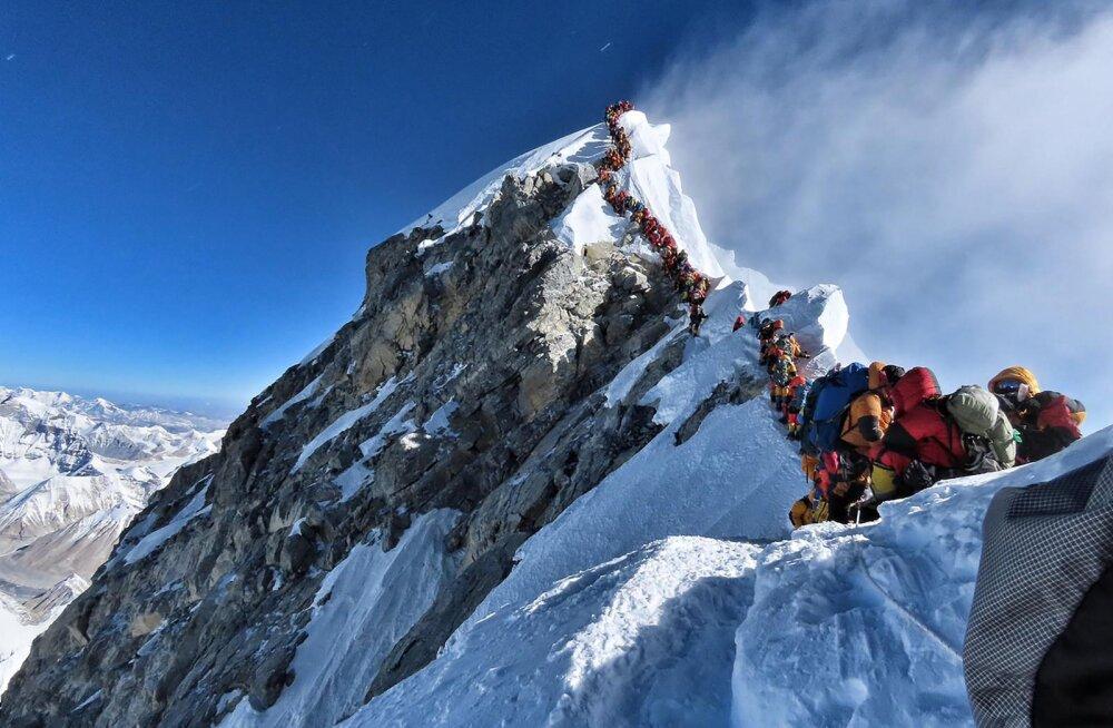 Mount Everest nõudis veel ühe Ameerika mägironija elu