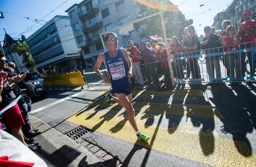 Zürichi EM meeste maraton