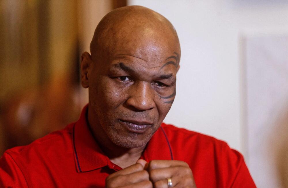 Mike Tyson avaldas: nutsin alati enne matši