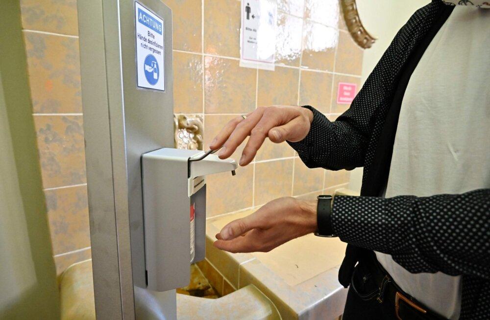 NB! Чрезмерное использование дезинфицирующих чистящих и моющих средств может привести к отравлению