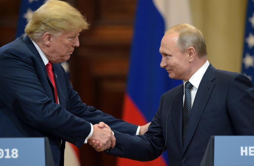 Suur sõprus: Donald Trump kutsub Vladimir Putini Washingtoni külla