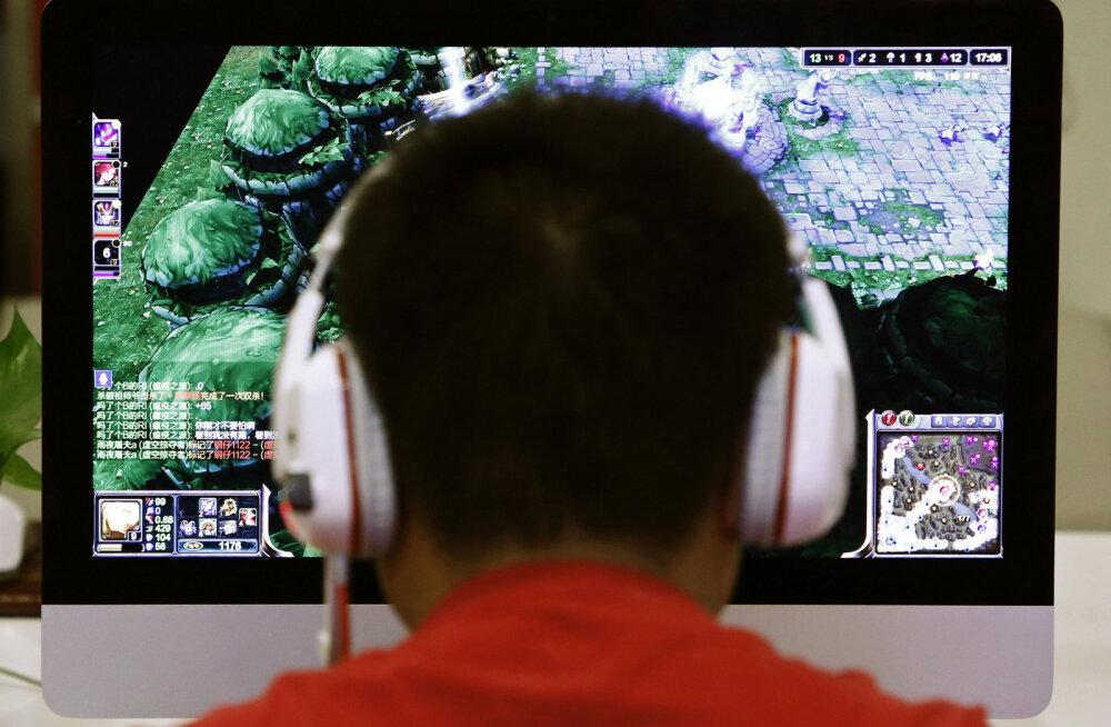 Hiina kehtestab alaealistele öise internetimängude keelu