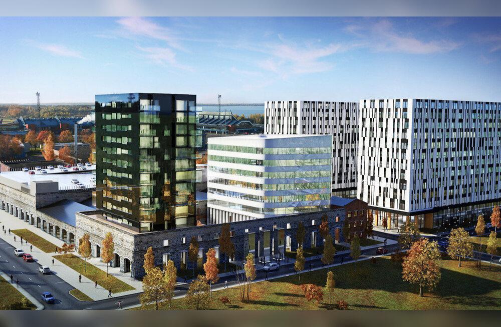 Öpiku teist bürootorni ehitab Merko Ehitus