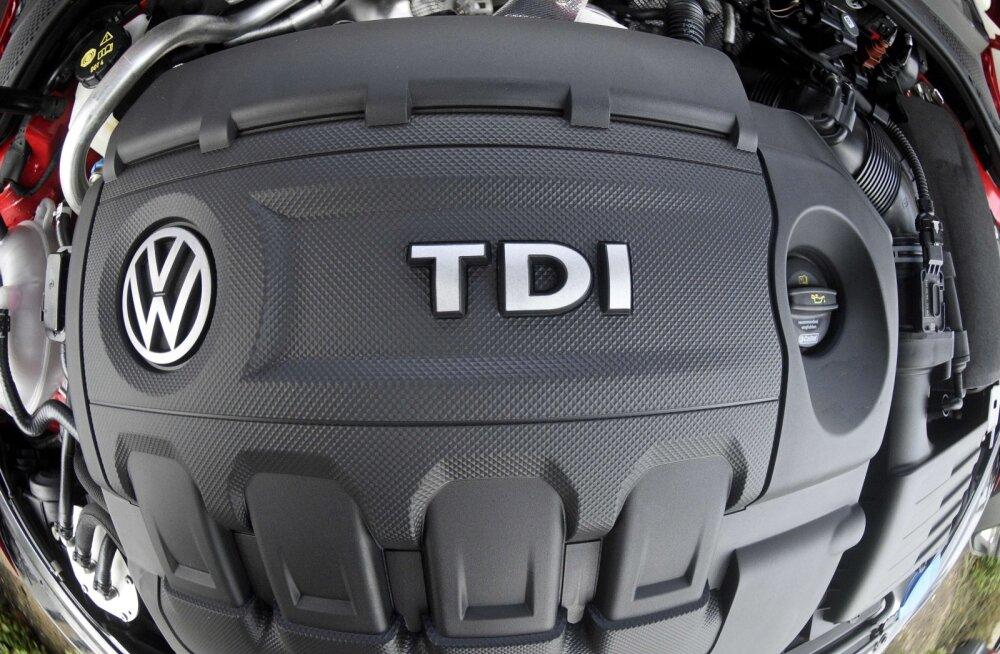 Diislipettus maksab kätte: Volkswageni turuosa vähenes