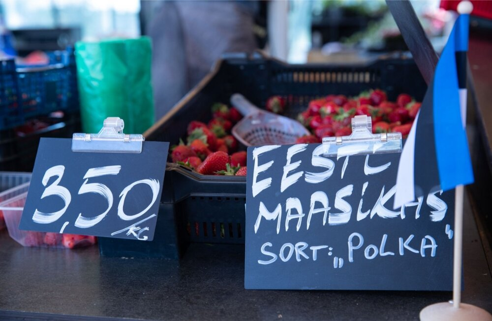 "Balti jaama turg, Eesti maasikad, sort ""Polka"""