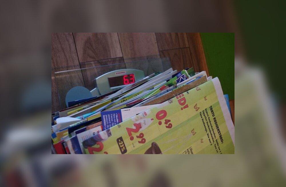 В почтовом ящике за полгода накопилось более 6 кг рекламы