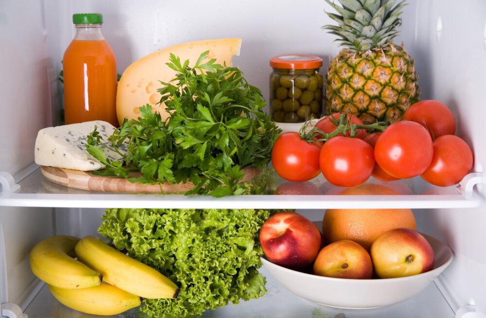 Pane tähele: neid puu- ja köögivilju ära külmkappi pane!