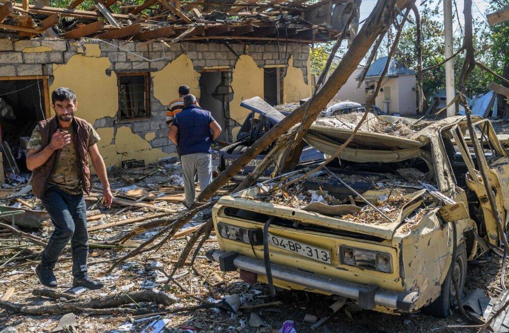 Jerevan ja Bakuu jõudsid Venemaal kokkuleppele humanitaarkaalutlustel Mägi-Karabahhi relvarahu kehtestamises