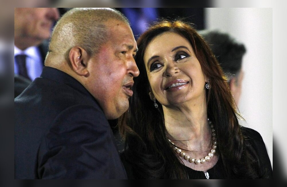 Chávez: kas vähilaine Ladina-Ameerika riigijuhtide hulgas on kutsunud esile USA?