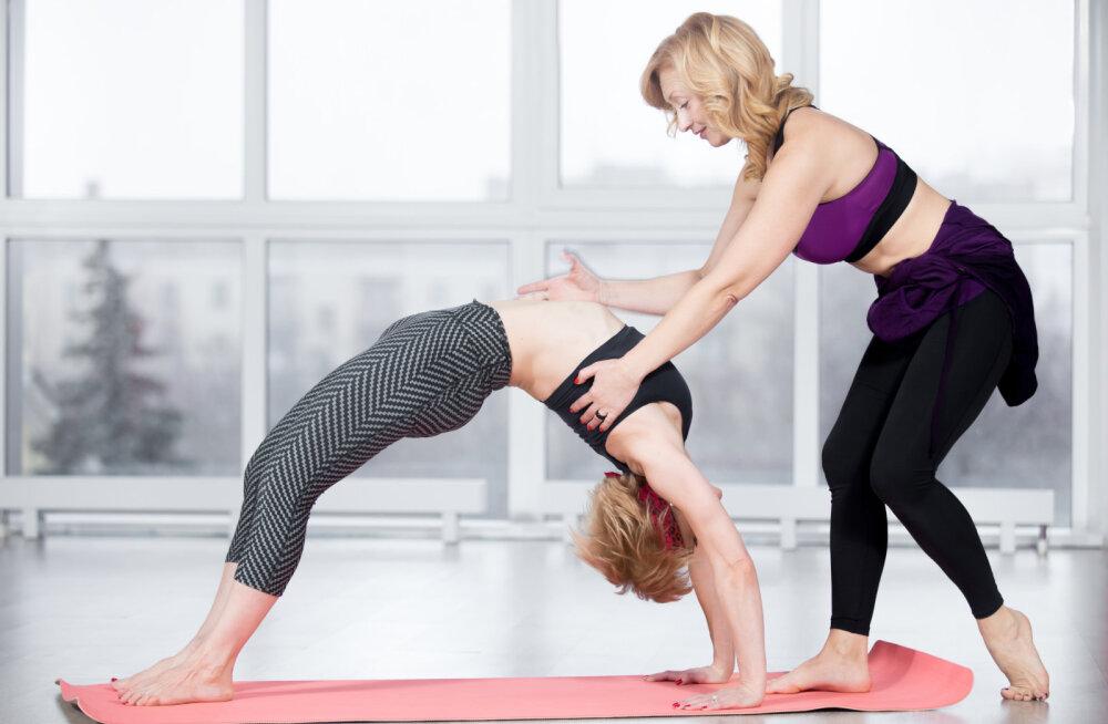 Joogateraapia - iidne nägemus joogast: Südamest-südamesse, ilma kalli aparatuuri ja Exceli abita