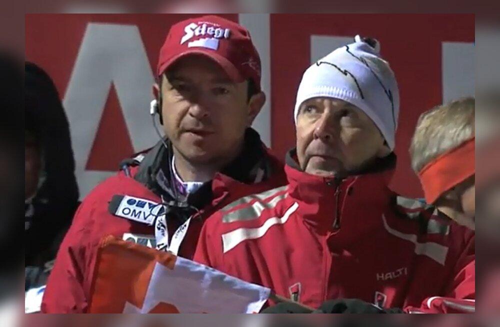 VIDEO: On naljamees! Matti Nykänen kehastus Gregor Schlierenzaueri treeneriks