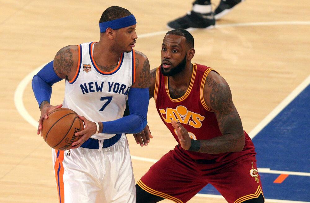 Carmelo Anthony: LeBron James päästis mu Bahamal uppumisest